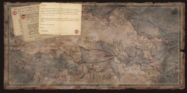 Runeterra Medarda map