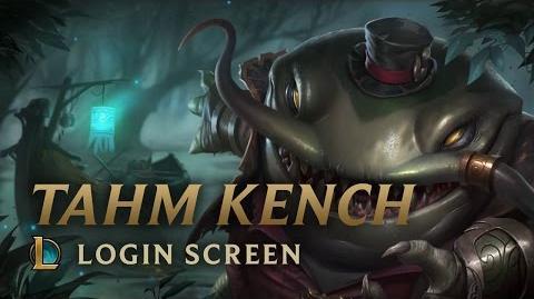 Tahm Kench - ekran logowania