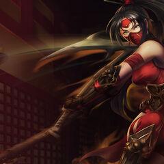 2nd Crimson Akali