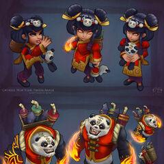 Panda Annie Model 3 (by Riot Artist <a href=