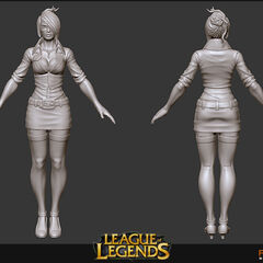 Headmistress Fiora Model 1 (by Riot Artist <a href=