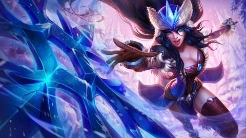 League of Legends- Snowstorm Sivir