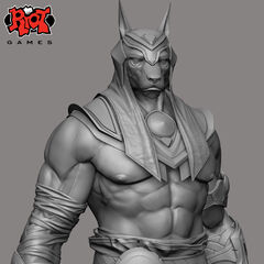 Nasus Call of Power Concept 1 (by Riot Artist <a rel=