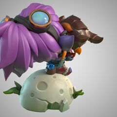 Dragon Trainer Tristana Statue Model 2 (by Riot Artists <a href=