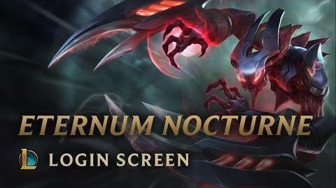 Eternum-Nocturne - Login Screen