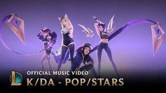 K DA - POP STARS (ft Madison Beer, (G)I-DLE, Jaira Burns) Official Music Video - League of Legends
