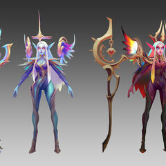Dawnbringer and Nightbringer Soraka Model 2 (by Riot Artist <a href=