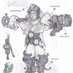 Ekko Concept 4 (by Riot Artist <a href=