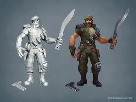 Gangplank Update Special Forces model 01
