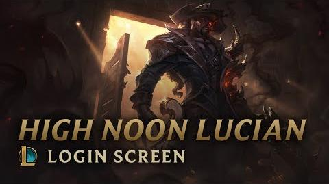 High Noon Lucian - Login Screen