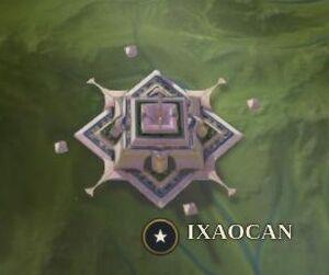 Ixaocan map