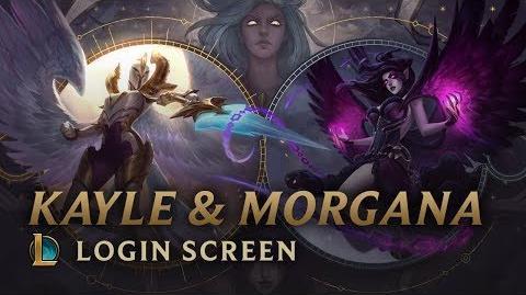 Kayle i Morgana - ekran logowania