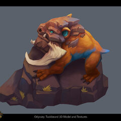 Odyssey Tuskbeard Concept 1 (by Riot Artist <a rel=