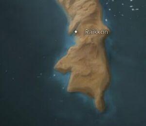 Raikkon map