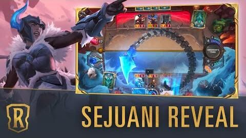 Sejuani Reveal New Champion - Legends of Runeterra