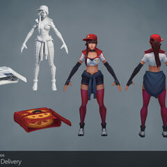 Pizza Delivery Sivir Model 8 (by Riot Artists <a href=