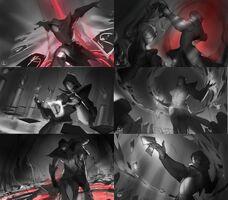 Twisted Fate Blutmond Splash Konzept 01