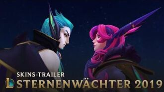 Verstreute Sterne Trailer der Sternenwächter-Skins – League of Legends
