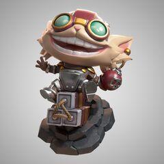 Ziggs Statue Model 1 (by Riot Artist <a href=
