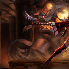 Blood Moon Akali Splash Concept (by Riot Artist <a href=