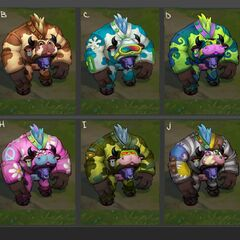 Moo Cow Alistar Chroma Concept 2 (by Riot Artist <a rel=