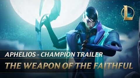 Aphelios The Weapon of the Faithful Champion Trailer - League of Legends