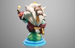 Bard Statue model 02