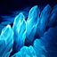 Braum Gletscherspalte