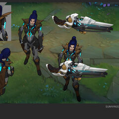 Pulsefire Caitlyn Concept 1 (by Riot Artist <a href=