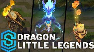 Fates Little Legends Ao Shin, Choncc, Umbra, Lucky Fuwa & Jade Emperor Sprite (TFT Set 4)