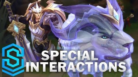 God-King Garen Special Interactions
