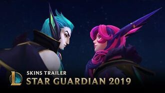 Scattered Stars Star Guardian Skins Trailer - League of Legends