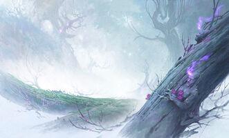 Seelenblumen Der Pfad, eine ionische Sage Konzept 02