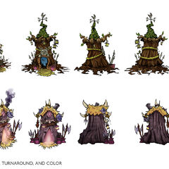 Summoner's Rift Architecture Concept 2 (by Riot Artist <a rel=