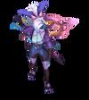 Vayne Seelenblumen-Vayne (Tansanit) M