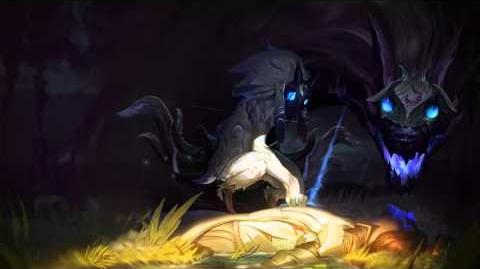 Kindred League Of Legends Tela de Login Com Música