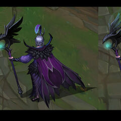 Ravenborn LeBlanc Concept (by Riot Artist <a href=