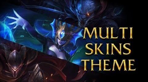 LoL Login theme - Chinese - 2014 - Multiple skins