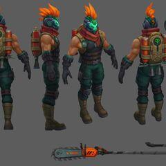 Zombie Slayer Pantheon Update Model