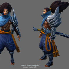 Yasuo Model 3 (by Riot Artist <a href=
