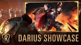 Darius Champion Showcase Gameplay - Legends of Runeterra