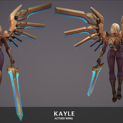 Aether Wing Kayle Update Model 1 (by Riot Artist <a href=
