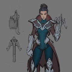 Vayne Update Concept (by Riot Artist <a href=