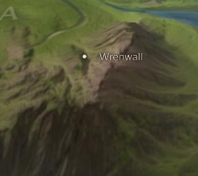 Wrenwall map