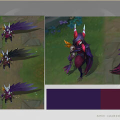 Xayah Concept 6 (by Riot Artist <a href=