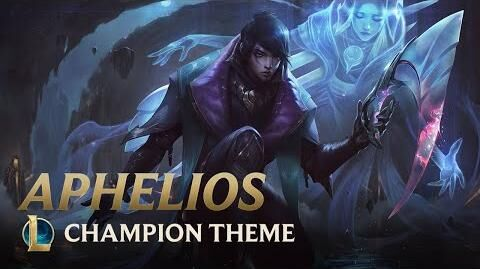 Aphelios, The Weapon of the Faithful - Login Screen