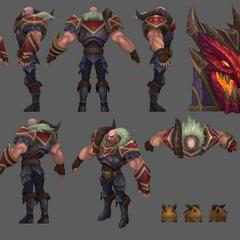 Dragonslayer Braum Model
