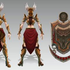 Valkyrie Leona Concept (by Riot Artist <a href=