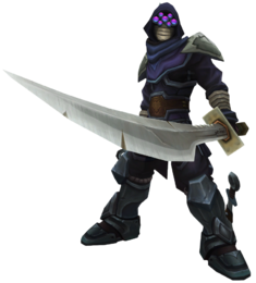 Master Yi Assassin Render