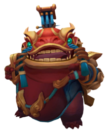 Tahm Kench CoinEmperor Ruby Render